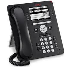 IP-телефон AVAYA 9608 (черный)  IP PHONE 9608 BLK (с БП)