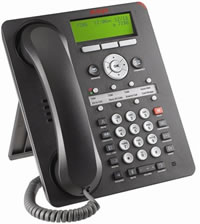 IP-телефон AVAYA 1608 (черный)  IP PHONE AVAYA 1608 BLK (с БП)